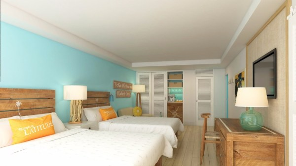 Margaritaville Beach Resort Grand Cayman double island view room