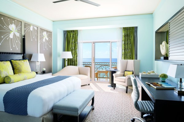Ritz-Carlton Grand Cayman bedroom
