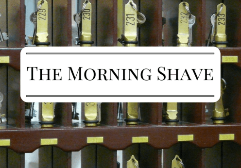 The Morning Shave 2017-01-13