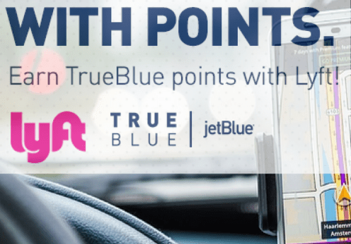 JetBlue Lyft partnership square
