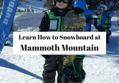 Learn How to Snowboard at Mammoth Mountain