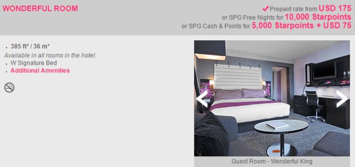 W Atlanta Midtown Hotel Wonderful room price options