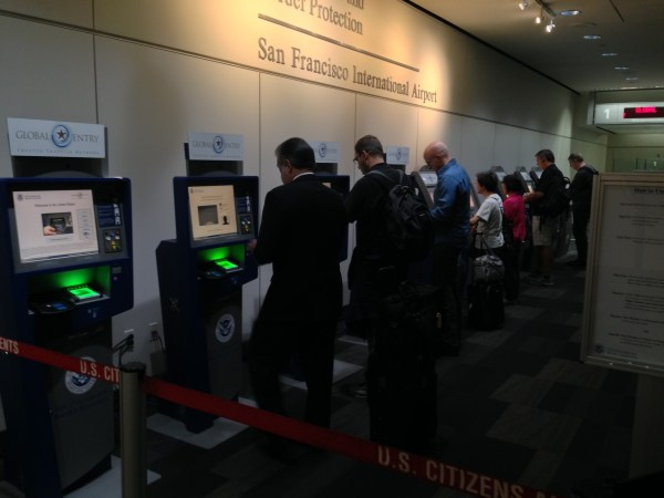 How Global Entry members clear customs