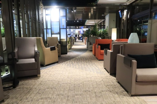 Dnata Lounge in Singapore Changi Airport