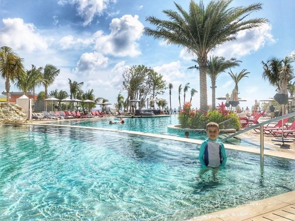 Kimpton Seafire pool Timmy best things to do on grand cayman