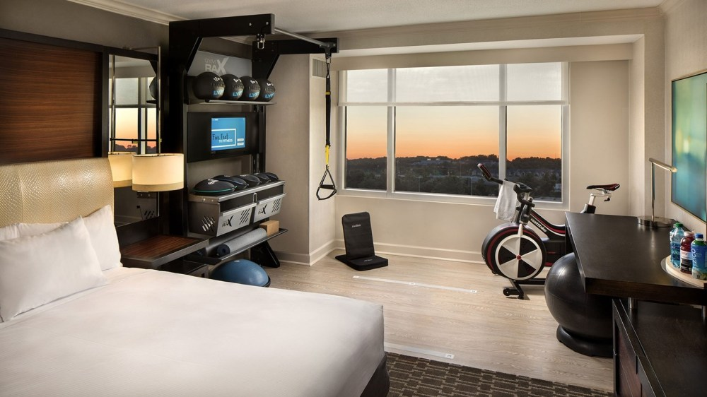 Hilton Fitness Rooms