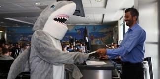 Southwest celebrates Shark Week with Customers