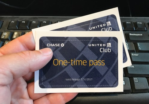 United Club passes expire 2017-07-31