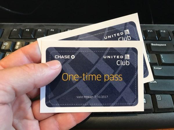 United Club passes expire 2017-07-31