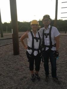 Hyatt Miraval Resort ropes course