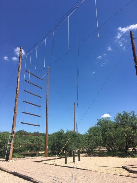 Hyatt Miraval Resort ropes course2