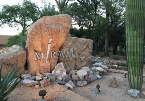 Hyatt Miraval Resort sign