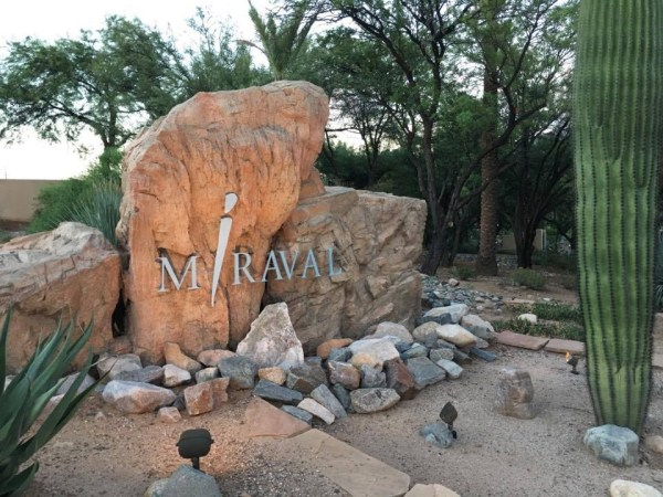 Hyatt Miraval Resort sign
