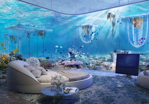 Dubai Floating Underwater Hotel