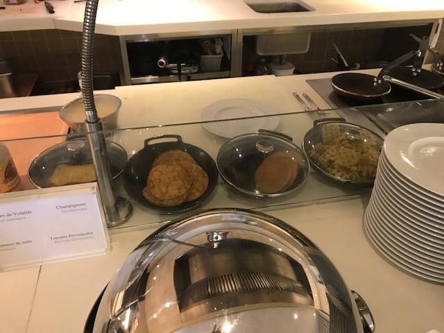 Hyatt Regency Palais de la Mediterranee traditional breakfast choices