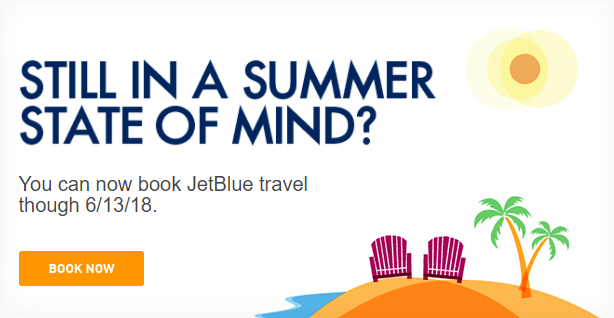 JetBlue schedule extended to June 2018