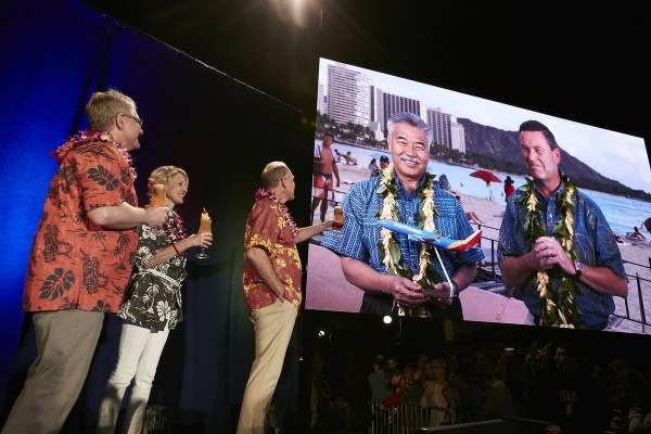 Southwest will fly to Hawaii in 2018. Southwest Hawaii 171011_SWAHAWAII_005-1200x800