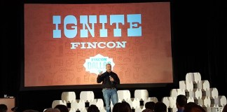 FinCon Ignite 2017 Lee on stage
