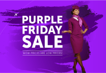 WOW Air Purple Friday Sale 2017