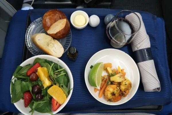United Airlines Polaris 777-200 Appetizer