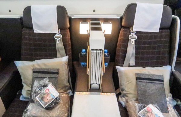 Swiss Air Business Class 777-300ER Seat