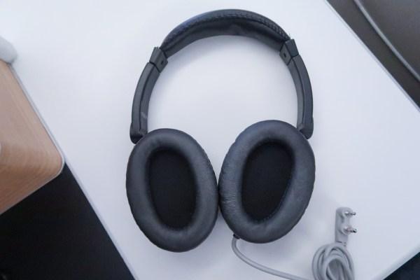 Swiss Air Business Class 777-300ER Headphones