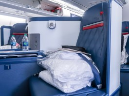 A330 Delta One Seat