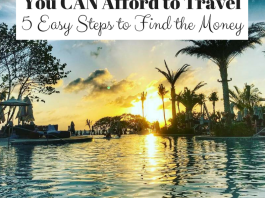 You CAN Afford to Travel