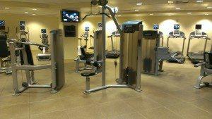 Hilton Grand Vacations Suites on the Las Vegas Strip gym