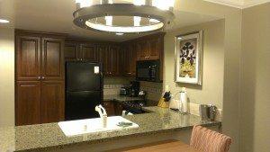 Hilton Grand Vacations Suites on the Las Vegas Strip kitchen
