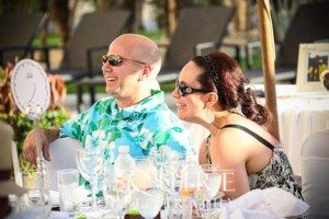 Lee & Anna at wedding at Barcelo Los Cabos Palace Deluxe