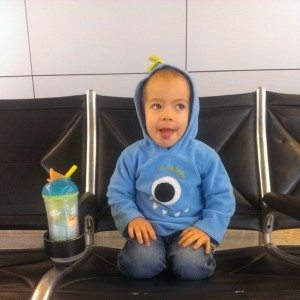 Timmy waiting for Global Entry appointment