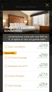 Embassy Suites Mandalay Bay cash prices