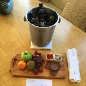 Kimpton Hotel Wilshire welcome amenity