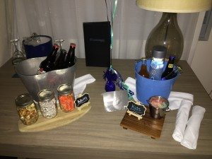 Kimpton Shorebreak welcome amenity