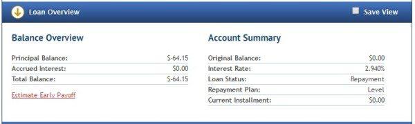 SoFi student loans paid off