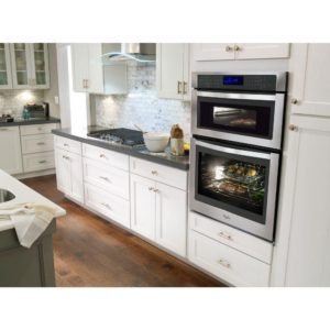 the microwave combo wall oven