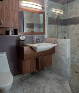 bathroom renovation floating vanities