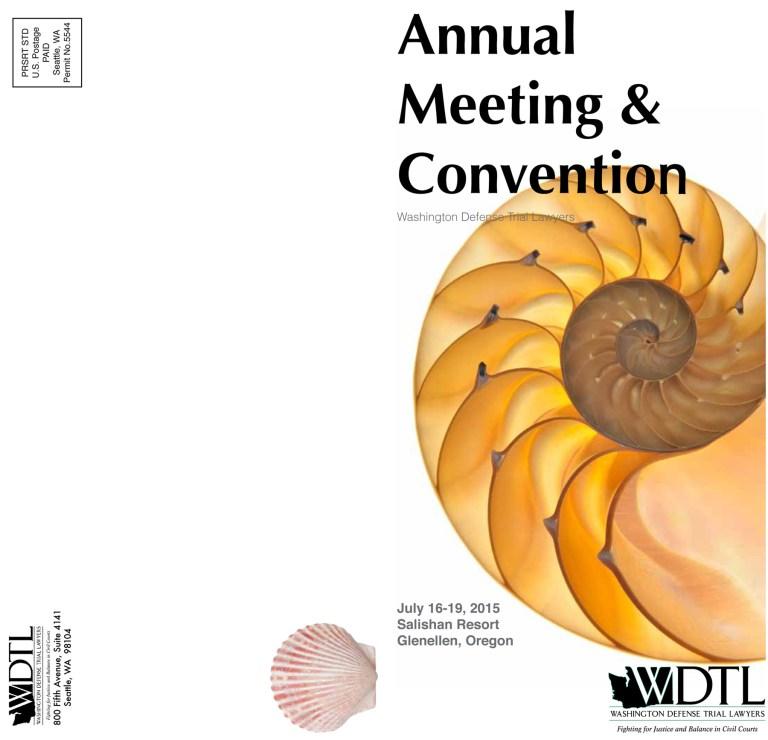 beach convention brochure
