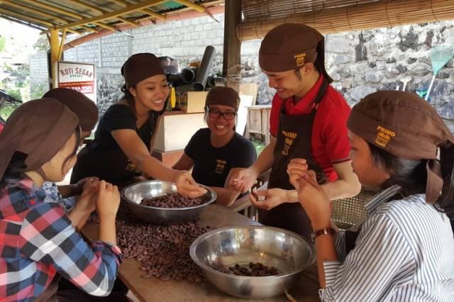 pembuatan cokelat
