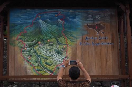 lansekap subak Jatiluwih sebagai bagian dari warisan budaya dunia