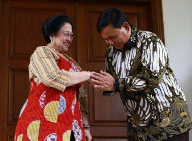 Politik nasi goreng ala Megawati Soekarnoputri dan Prabowo Subianto. Foto Breakingnews.co.id