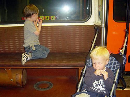 boys on the train