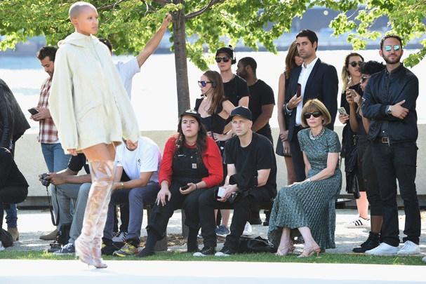 Desfile da Yeezy na Semana de Moda em Nova York (Foto: Getty Images)