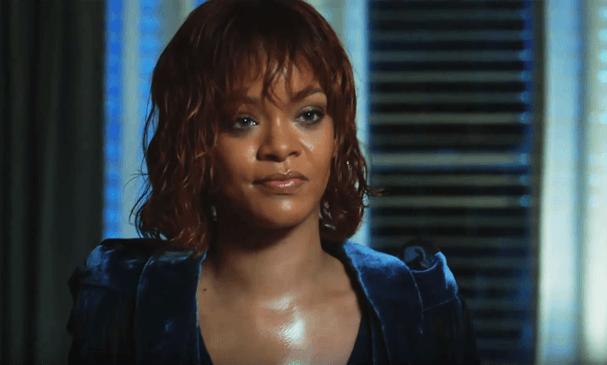 Rihanna como Marion Crane em