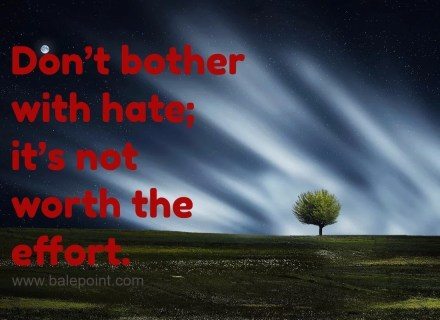 quote about hate