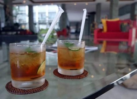 Welcome drink The Sintesa Jimbaran