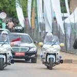 Konvoi Mobil Presiden (Sumber: Tribunnews.com)