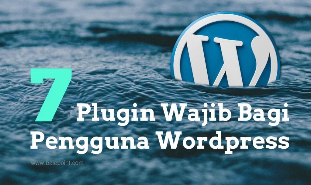 7 Wordpress Plugin Buat Pemula