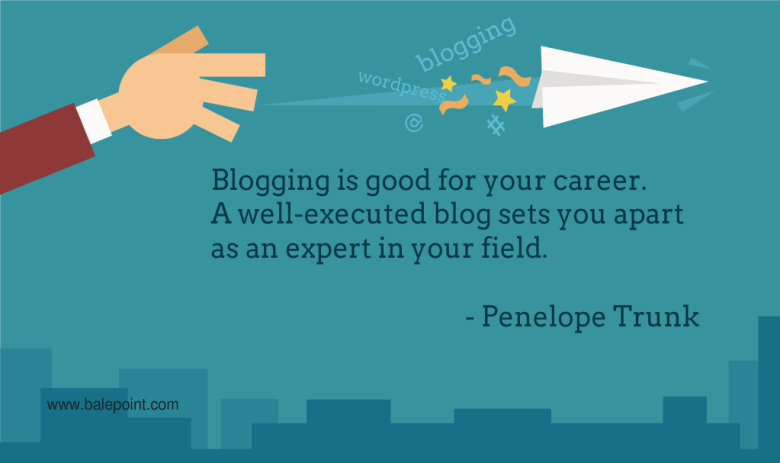 Blogging Quote Penelope Trunk